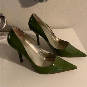 Olive green size 10 Worthington high heels